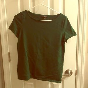 Small Talbots green blouse